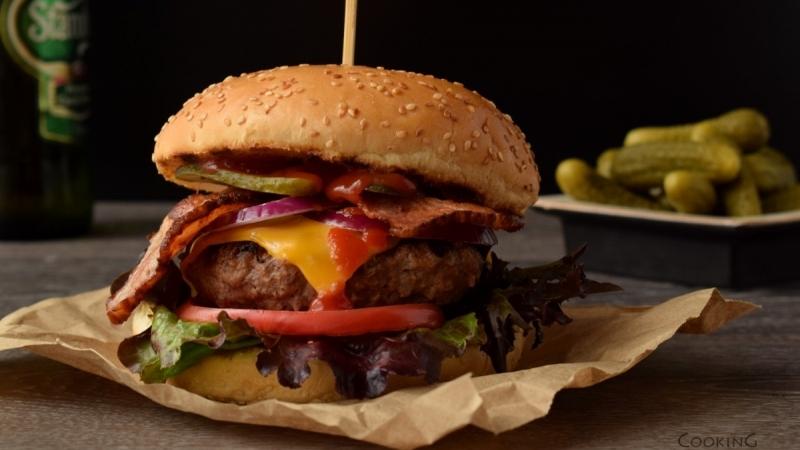 Bacon Cheese бургер